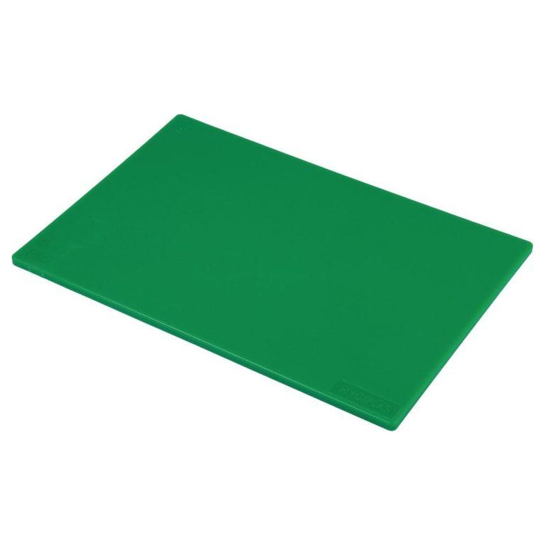 Hygiplas Low Density Green Chopping Board Standard