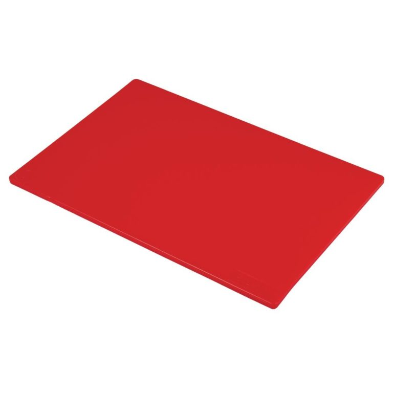 Hygiplas Low Density  Red Chopping Board Standard