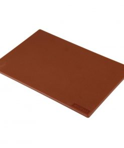 Hygiplas Low Density Brown Chopping Board Standard