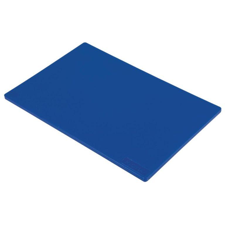 Hygiplas Low Density Blue Chopping Board Standard