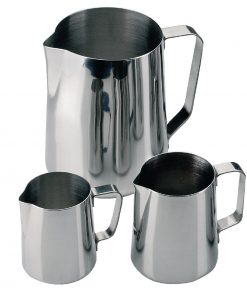Olympia Stainless Steel Milk Jug 570ml