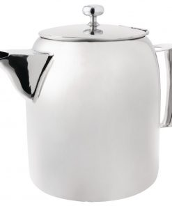 Olympia Cosmos Stainless Steel Teapot 340ml