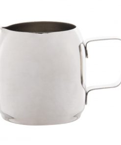 Olympia Cosmos Milk Jug Stainless Steel 340ml