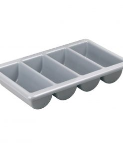 Kristallon Stackable Plastic Cutlery Tray Large