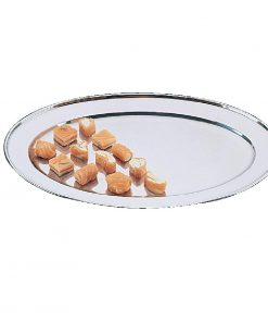 Oval Serving Tray 18in
