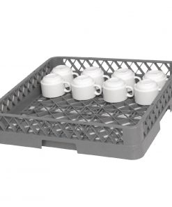 Vogue Open Cup Dishwasher Rack