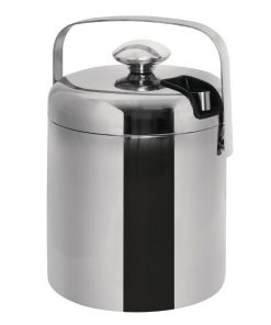 Ice Bucket with Lid and Tongs 1.23Ltr