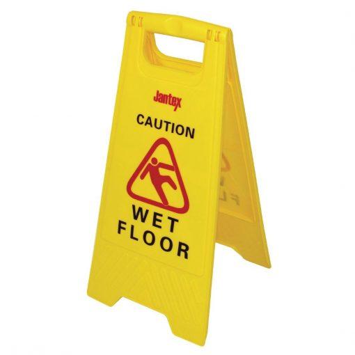 Jantex Wet Floor Safety Sign