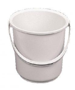 Jantex Plastic Bucket White 10Ltr