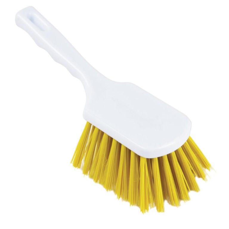 Jantex Hand Brush Yellow