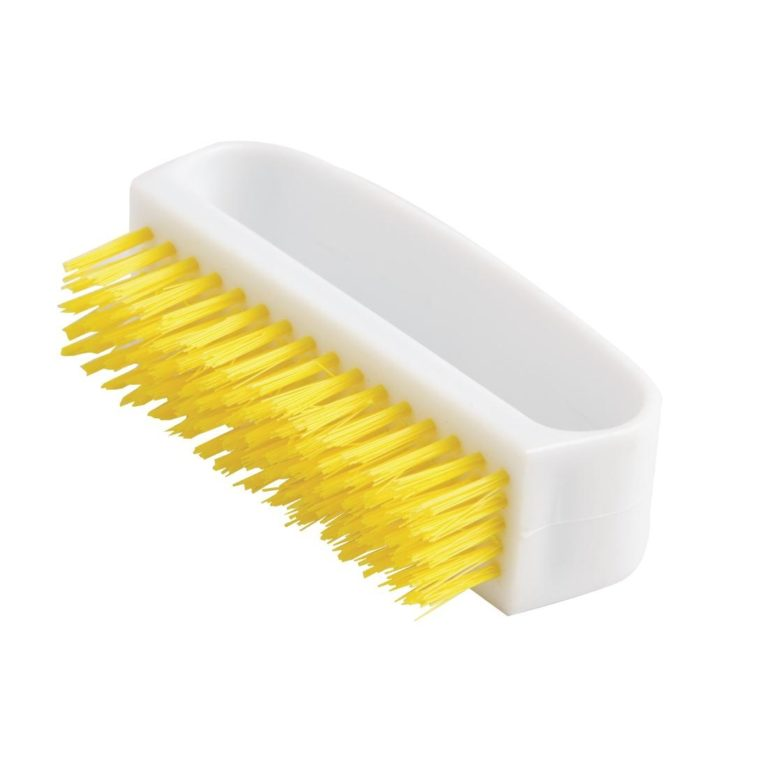 Jantex Nail Brush Yellow