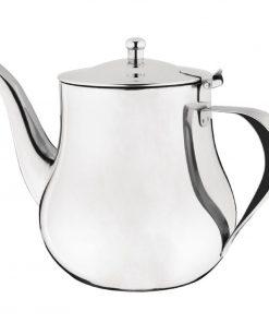 Olympia Arabian Stainless Steel Teapot 1.35Ltr