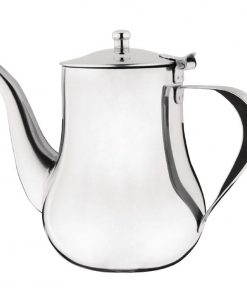 Olympia Arabian Coffee Pot Stainless Steel 1Ltr