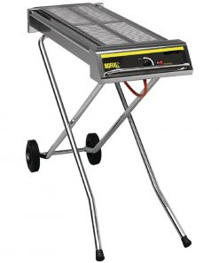 Buffalo Folding Propane Gas Barbecue on Wheels