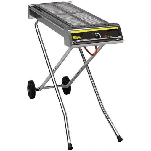Buffalo Folding Propane Gas Barbecue on Wheels