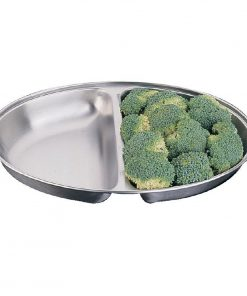 "Oval 20"" Vegetable Dish"
