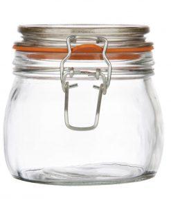 Vogue Clip Top Preserve Jar 500ml