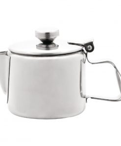 Olympia Concorde Stainless Steel Teapot 340ml