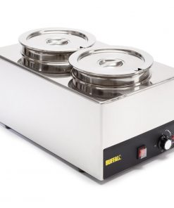 Buffalo Bain Marie With Round Pots