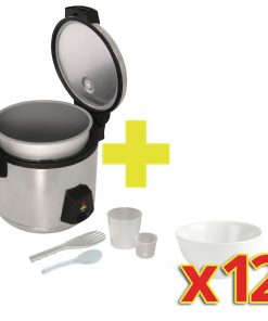 Special Offer Buffalo Rice Cooker with 12x Olympia Bowls