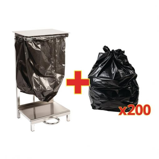 Special Offer - Stainless Steel Sack Holder and 200 Sacks