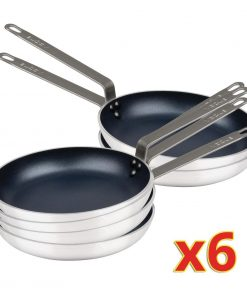 Bulk Buy Pack of 6 Vogue Non-Stick Frypans