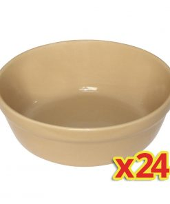 SPECIAL OFFER 4x Box of 6 Olympia Round Pie Bowls Large