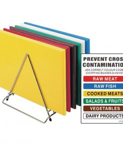 Hygiplas Standard High Density Chopping Board Set