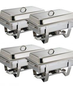 Milan Chafing Set Four Pack