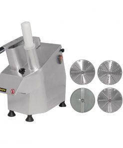 Buffalo Multi Function Continuous Veg Prep Machine with 4 Discs