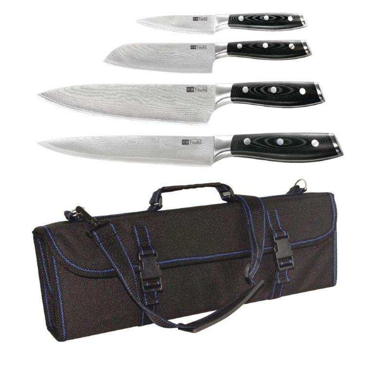 SPECIAL OFFER Tsuki 4 Piece Knife Set and Case