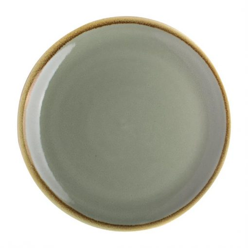 Olympia Kiln Round Coupe Plate Moss 230mm