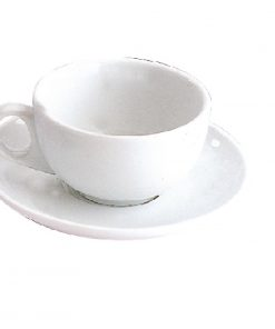 Olympia Cappuccino Cup and Saucer Set 285ml