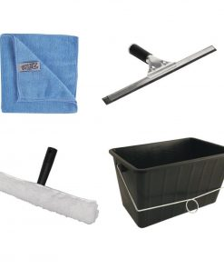 Jantex Window Cleaning Kit 4 Piece Set