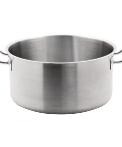 Vogue Stainless Steel Stew pan 18.5Ltr
