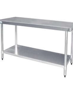 Vogue Stainless Steel Prep Table 1800mm