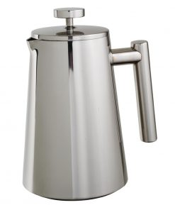 Olympia Insulated Art Deco Stainless Steel Cafetiere 3 Cup
