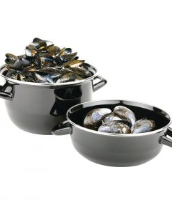 Olympia Mussel Pot Enamel Large