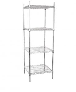 Vogue 4 Tier Wire Tower Unit 610x610mm