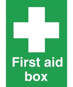 First Aid Box Symbol Sign