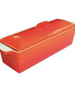 Vogue Orange Pate Terrine Mould 1.3Ltr
