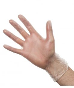 Vogue Powdered Vinyl Gloves XL