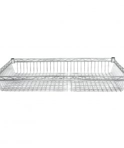 Vogue Chrome Baskets 1220mm Pack of 2