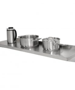 Vogue Stainless Steel Kitchen Shelf 600mm